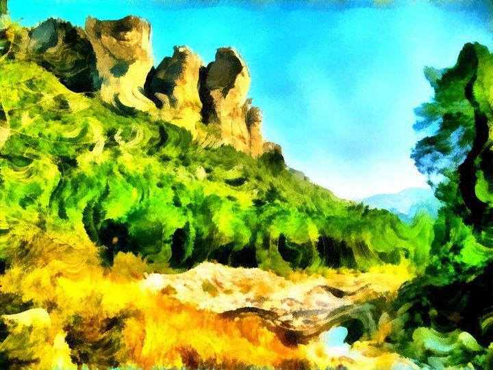 Canyon Mesa - Museum of A Lot of Art MOLOA
