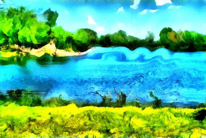 Lake Spiral - Museum of A Lot of Art MOLOA