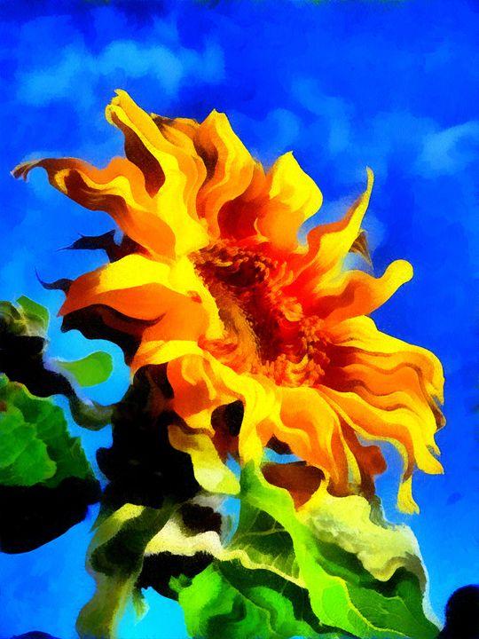 Flowing Flower - Museum of A Lot of Art MOLOA