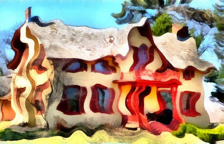Wavy House - Museum of A Lot of Art MOLOA