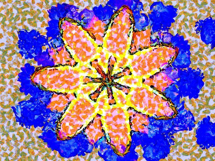 Gloriosa lily - Museum of A Lot of Art MOLOA