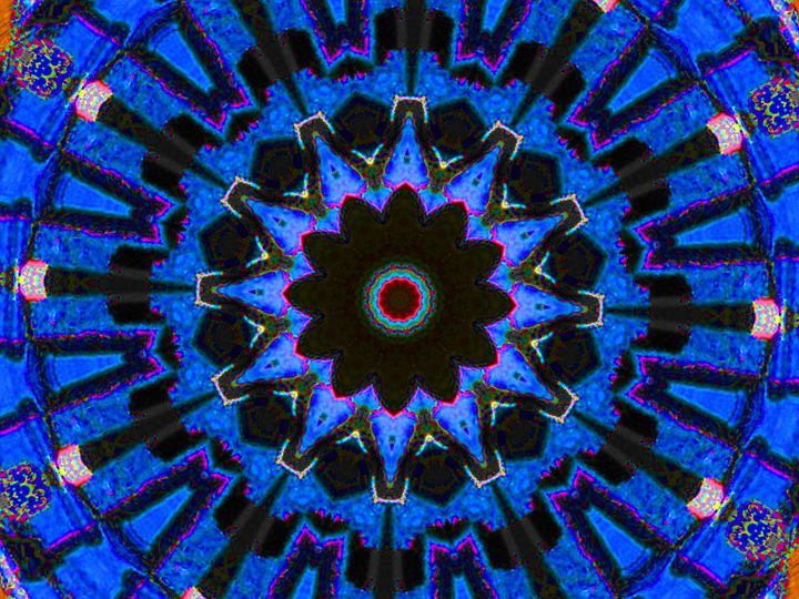 Blue Puzzle - Museum of A Lot of Art MOLOA