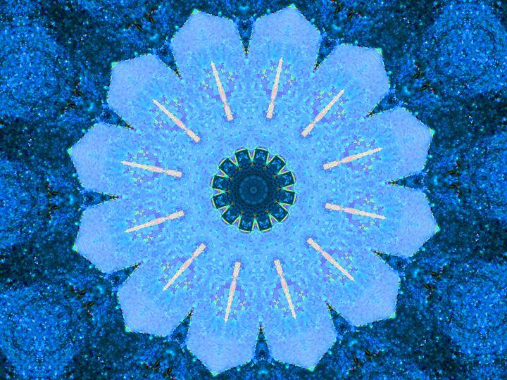 Blue Profusion - Museum of A Lot of Art MOLOA