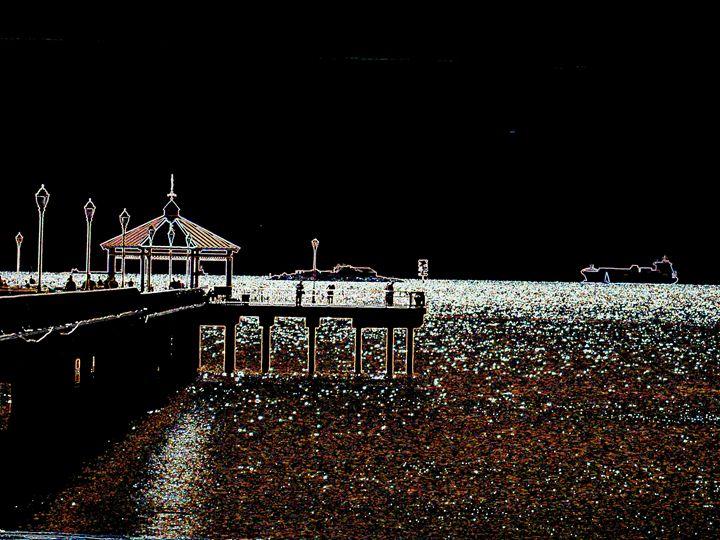 Pier Shadows - Museum of A Lot of Art MOLOA