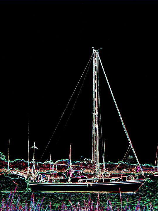 Sailing - Museum of A Lot of Art MOLOA