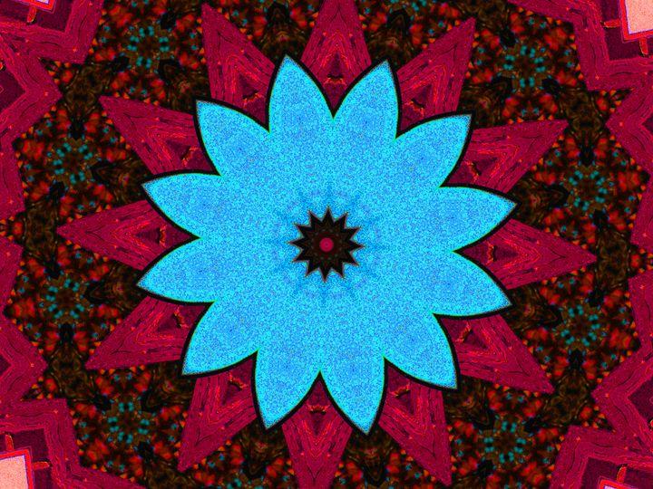 Blue Flower - Museum of A Lot of Art MOLOA
