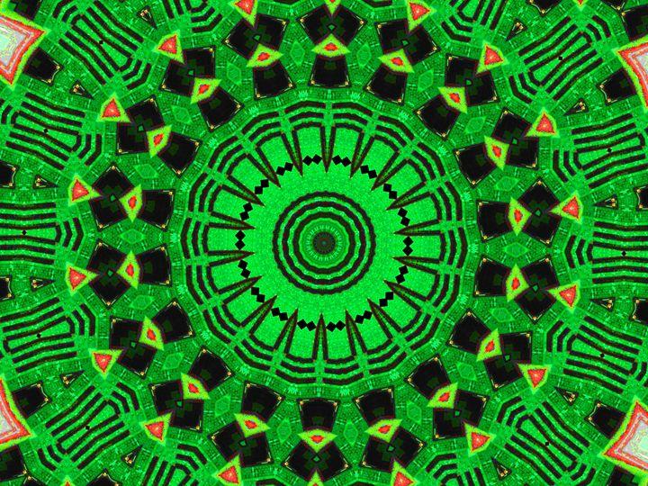 Green Spots - Museum of A Lot of Art MOLOA