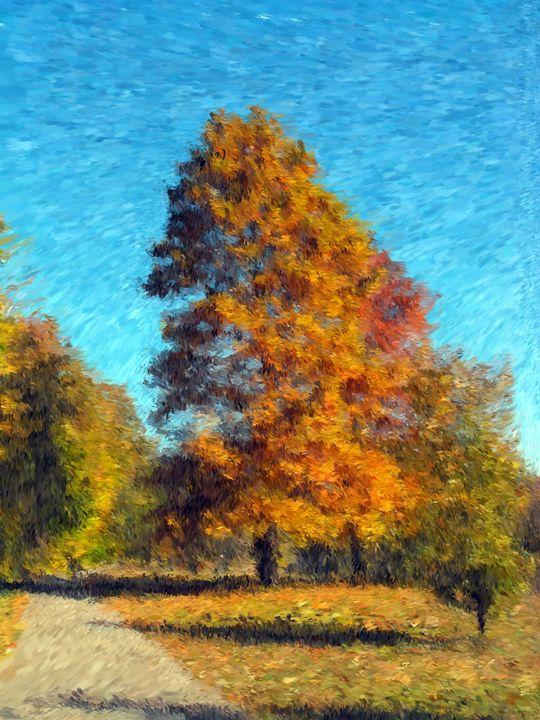 Fall Colors 2 - Museum of A Lot of Art MOLOA