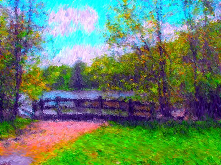 Willow Bridge - Museum of A Lot of Art MOLOA