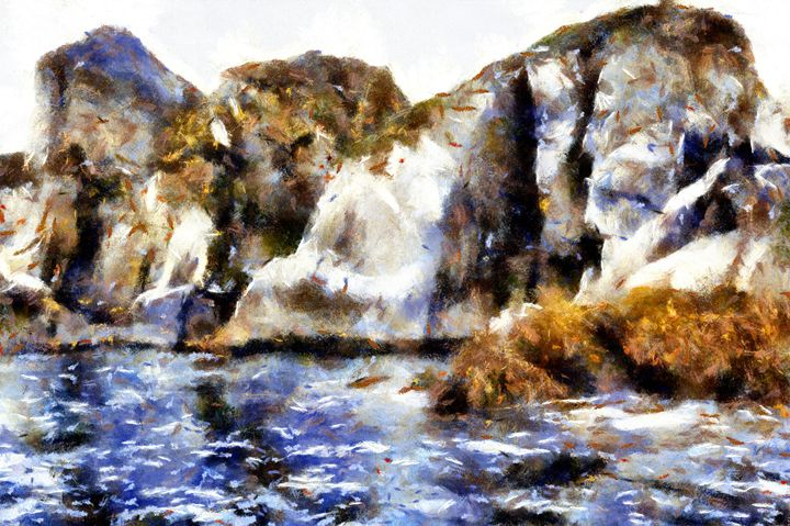 Bright Cliffs - Museum of A Lot of Art MOLOA