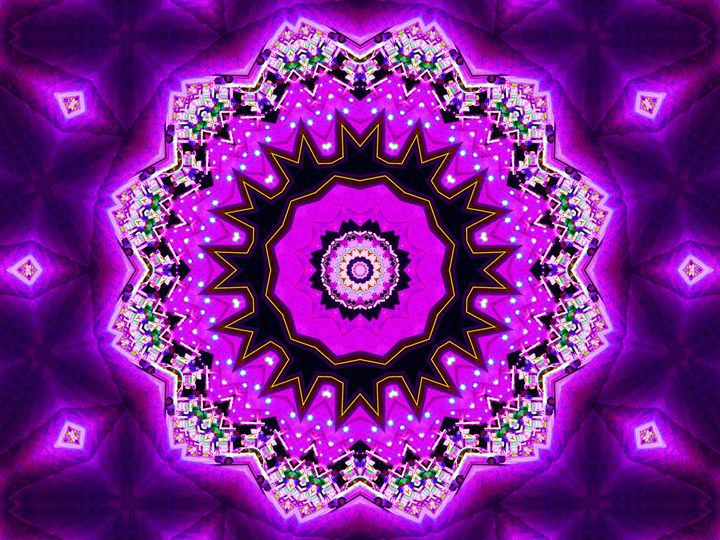 Purple Creation - Museum of A Lot of Art MOLOA