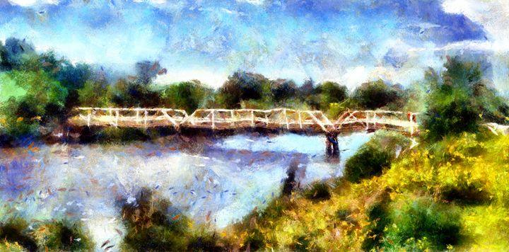 Train Bridge - Museum of A Lot of Art MOLOA