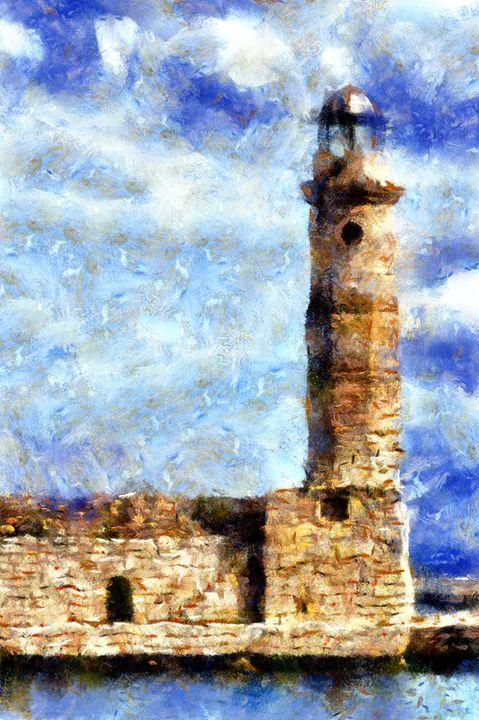 Brick Lighthouse - Museum of A Lot of Art MOLOA