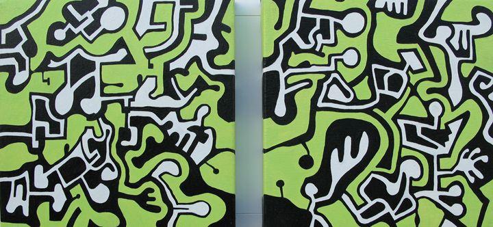 Double green - Massimo Rubbi