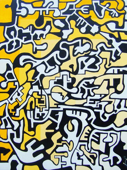 Composition in Yellow - Massimo Rubbi