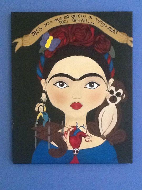 El corazón de Frida - Renée Lastra