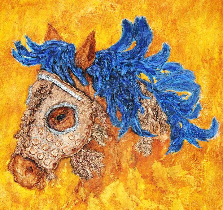 The sad pony - Ông Thê' Huy Gallery