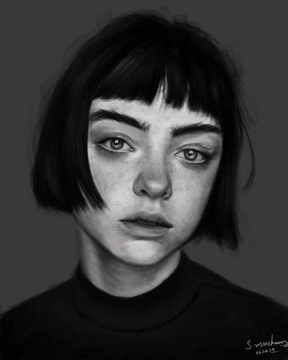 Sad Girl - soujanya
