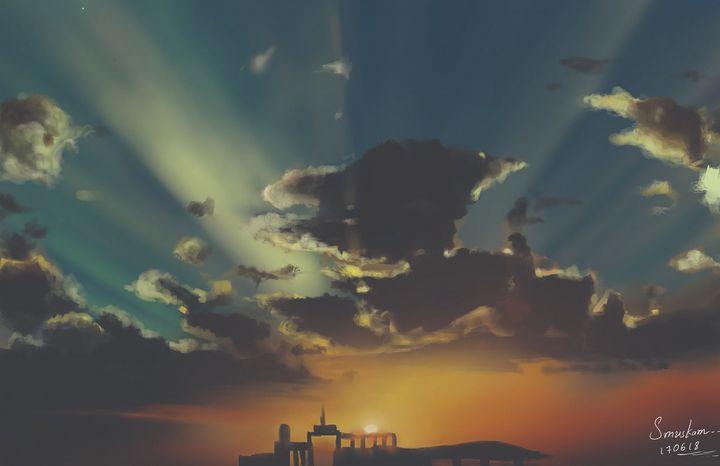Sunset - soujanya