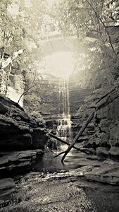 Matthiessen State Park -Waterfall