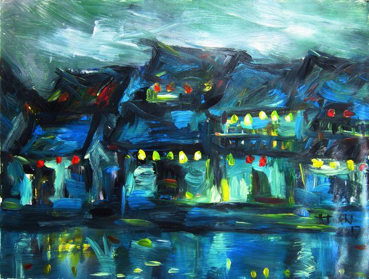 Hoi An ancient town at night - Anh Tuan Le