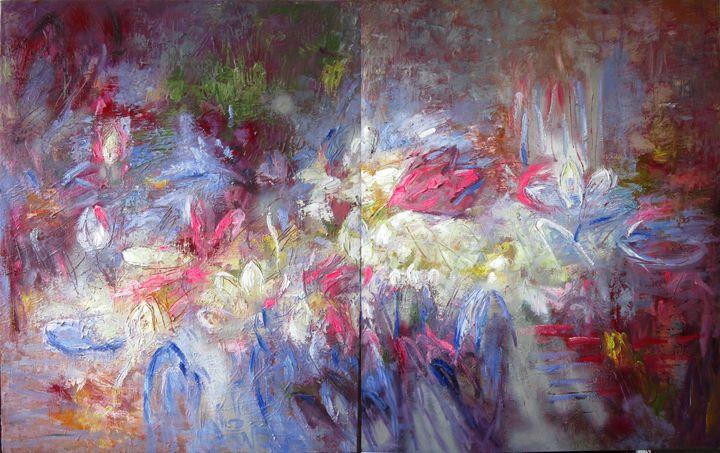 radiate incense ( series lotus) - Anh Tuan Le