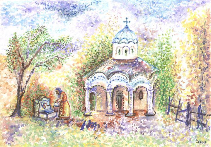 Small church - Miniature Gallery