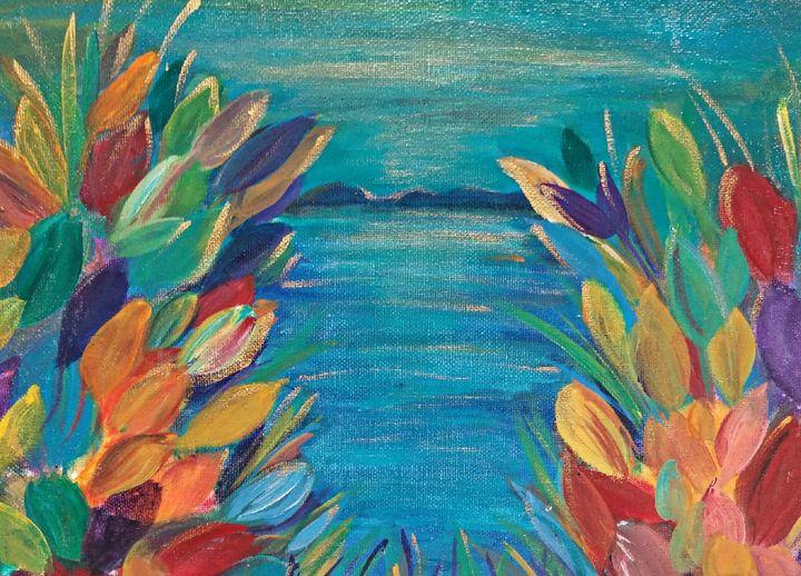 Tropical Cove - Wild Woman Studio