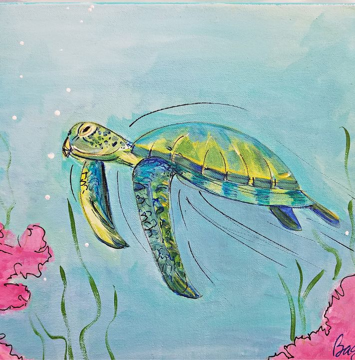 Sea Turtle - Wild Woman Studio