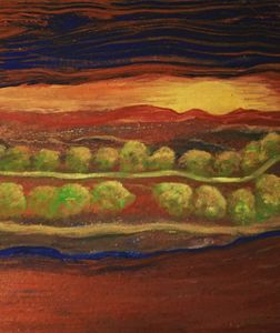 Tuscany Sunset - Wild Woman Studio