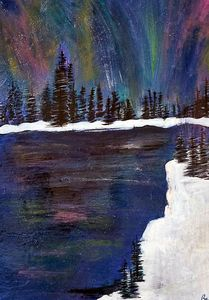 Northern Lights - Wild Woman Studio