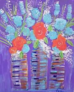 Vibrant Bouquets - Wild Woman Studio