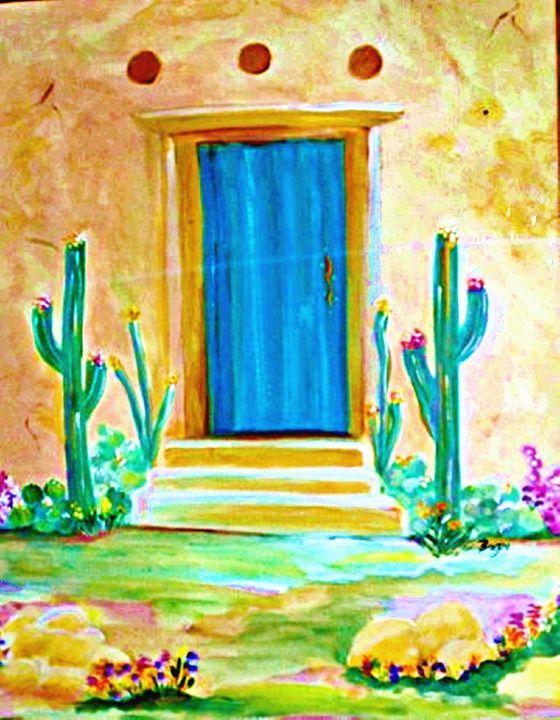 Desert Door - Wild Woman Studio