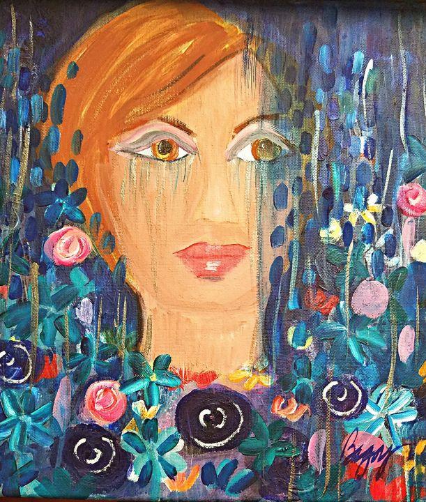 Blue Grief - Wild Woman Studio