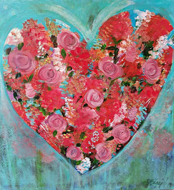 Love in Bloom - Wild Woman Studio