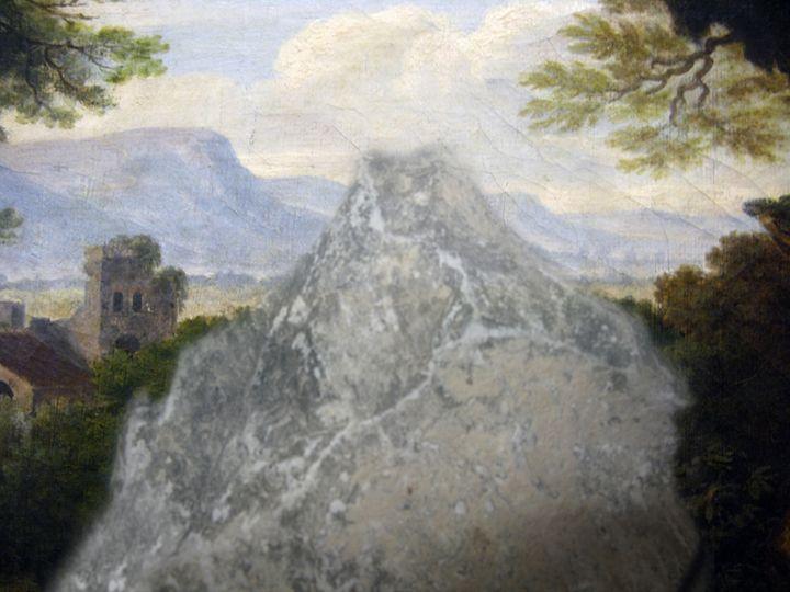 Paysage italien avec rocher - Helgorsky
