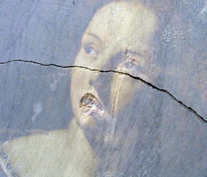Portrait avec fissure 2 - Helgorsky