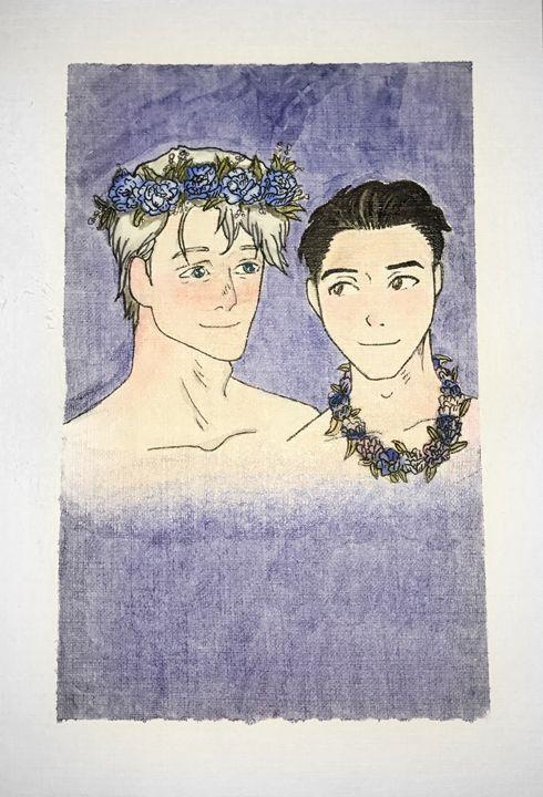 Viktor Nikiforov and Yuri Katsuki - Kalina Nhem