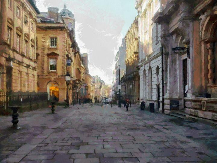 "Bristol ""The Nails, Corn Street"" - Andrew Hay"