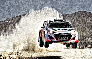 Hyundi i20 WRC Rally Car - Andrew Hay