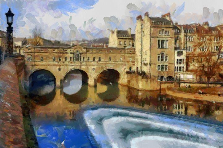 BATH,UK Pultney Bridge - Andrew Hay