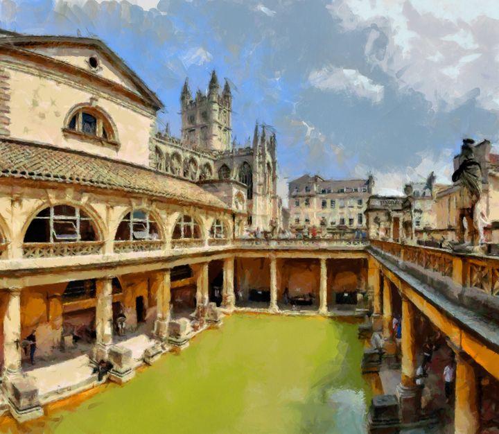 BATH ,UK The Roman Baths - Andrew Hay