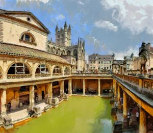 BATH ,UK The Roman Baths