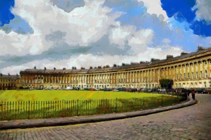 BATH, UK The Crescent - Andrew Hay