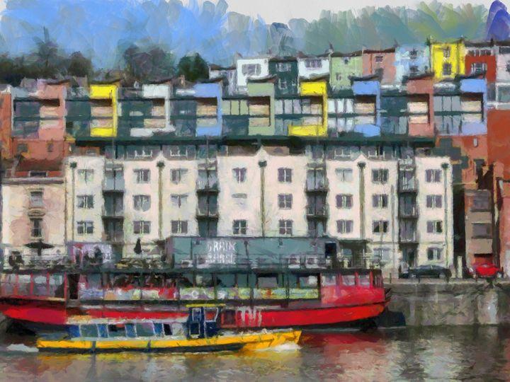Bristol Harbourside - Andrew Hay