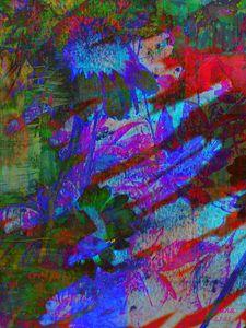 Coneflower Pastels - Art by D. Stewart