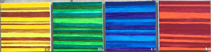 """,,Flow"""" - Line Art"""