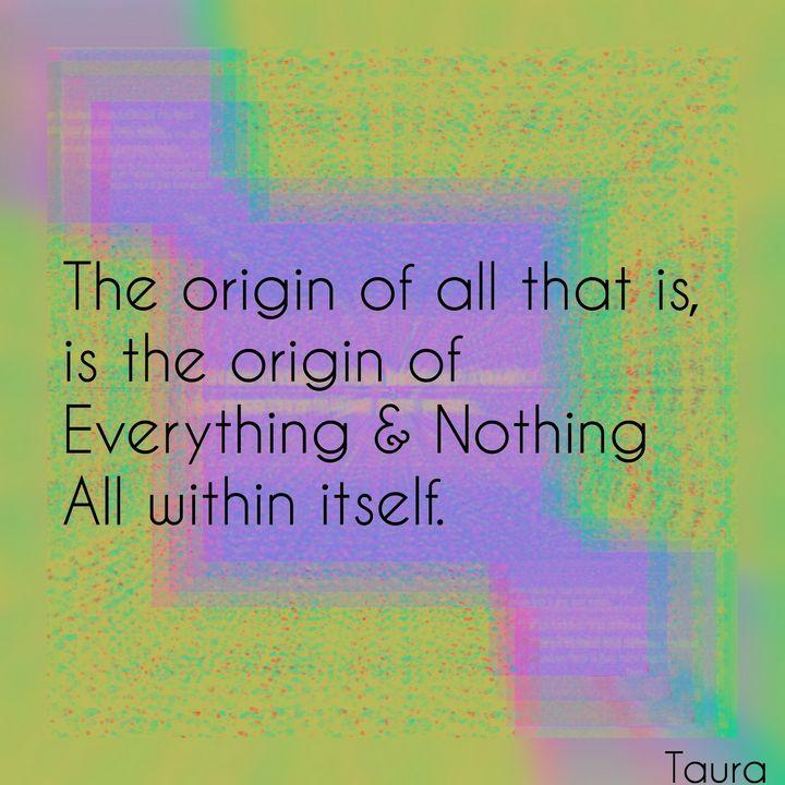 The Origin - Perception Art HeArt & Soulé