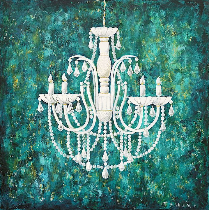 Magic Chandelier II - Tamara Art