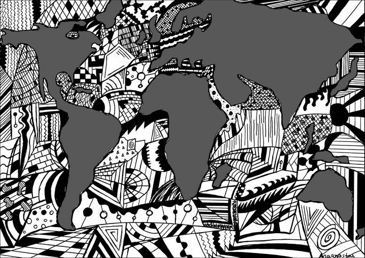 World Map - Anagnostou